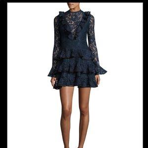 Alexis - Tracie Navy Blue/Black Mini Dress